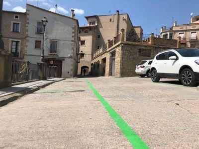 A final de mes es despleguen quatre noves zones verdes d'estacionament limitat al nucli antic de Solsona