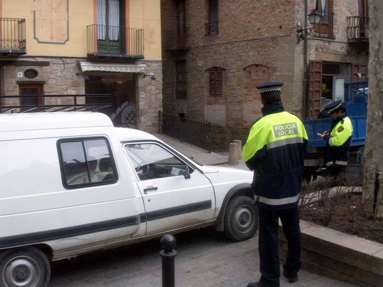 A partir d'aquestes festes la Policia Local de Solsona comença a realitzar controls d'alcoholèmia