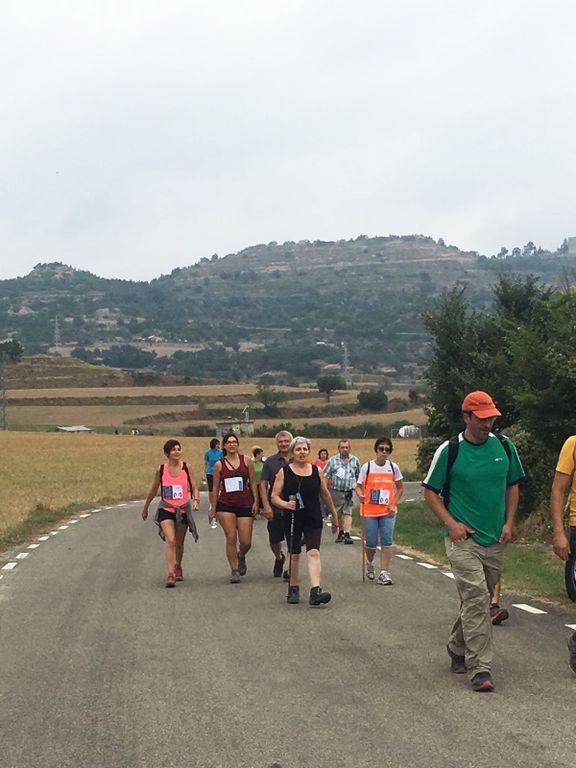 Amb 240 participants la Caminada popular al Vinyet de Solsona bat el rècord dels últims cinc anys