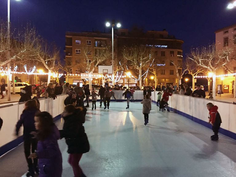 Aquestes festes Solsona tindrà una pista de patinatge a l'aire lliure més gran que l'any passat i durant més dies
