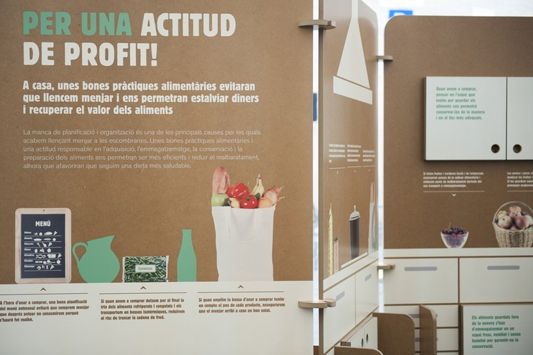 Arriba a Solsona l'exposició contra el malbaratament alimentari 'Som gent de profit'