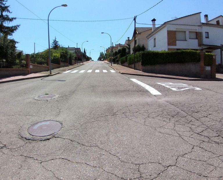 Comencen les obres de millora del carrer del Blat de Solsona