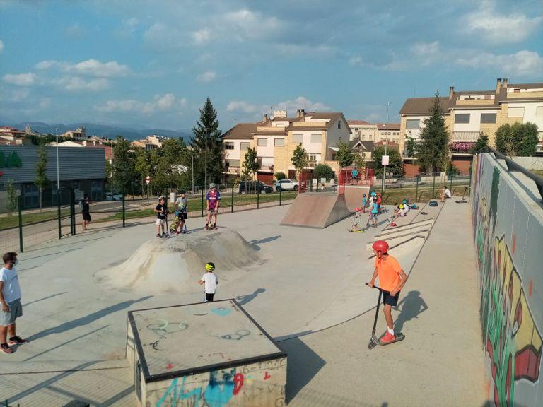 Continuen les activitats de l''skatepark' de Solsona amb nous horaris i inscripció prèvia