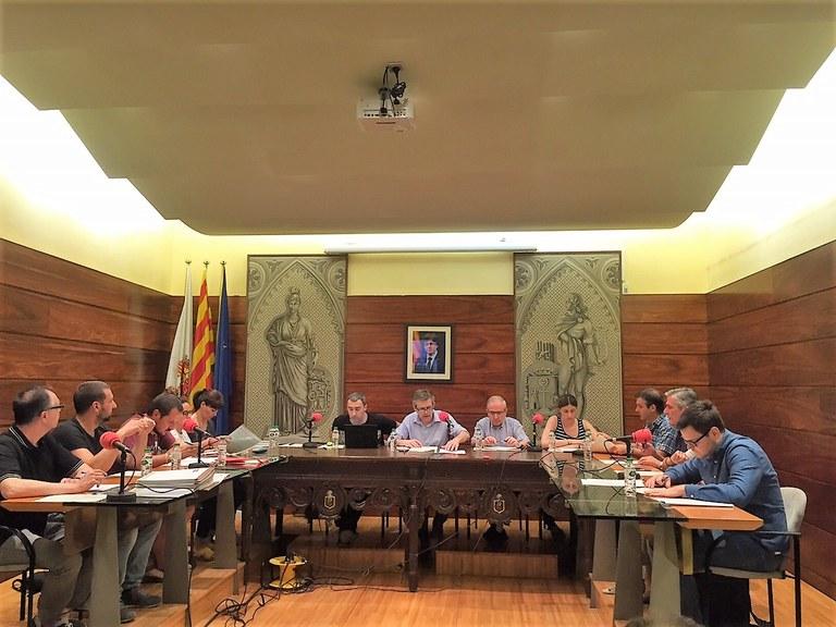 CONVOCATÒRIA DE PLE: El govern solsoní proposa congelar la majoria d'ordenances fiscals per al 2018