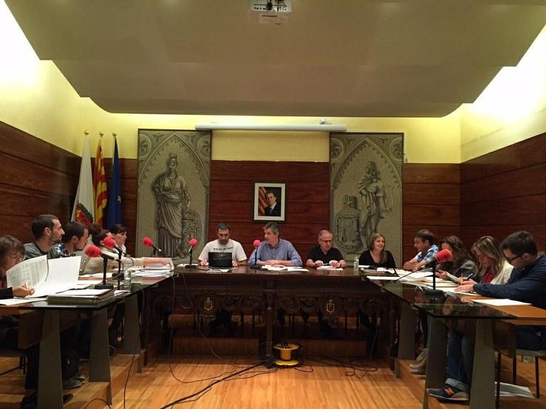 CONVOCATÒRIA DE PLE: L'Ajuntament vota aquest dijous la modificació de l'IBI, que incrementa el tipus si bé baixa l'import final