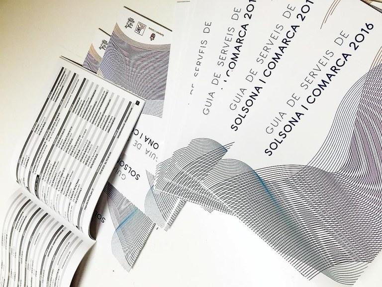 Convoquen un concurs per al disseny de la portada de la 'Guia de serveis de Solsona i comarca'
