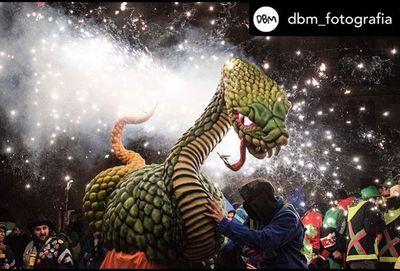 Damià Bonsfills s'imposa en el Concurs del Carnaval de Solsona a Instagram amb una foto de l'Espedrera