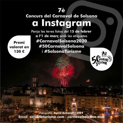 El 7è Concurs del Carnaval de Solsona a Instagram renova els premis