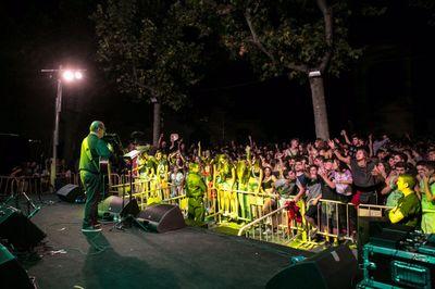(ARXIU. Foto de Marc Ramonet) Els concerts per a joves és on es detecta menys presència de dones damunt dels escenaris