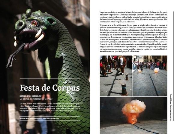 El Corpus de Solsona apareix en un llibre sobre les festes amb pirotècnia del país