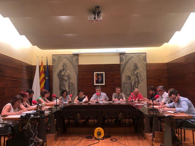 El Ple municipal solsoní aprova les retribucions de l'alcalde i regidors amb el suport de JxS i el PSC