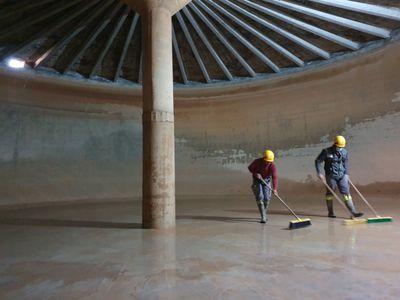 El Servei Municipal d'Aigua de Solsona neteja els dipòsits de Rotgers i millora la injecció de clor a la xarxa