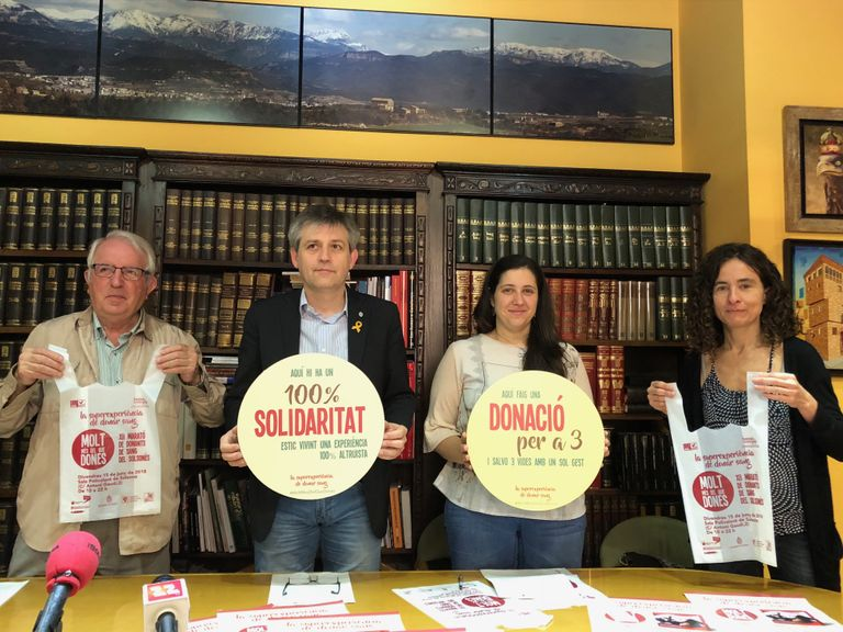 El Solsonès acull la 12a Marató de donació de sang amb el focus en els nous donants