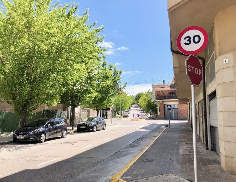 En vigor la limitació de velocitat a 30 km/h a la gran majoria de vies urbanes de Solsona