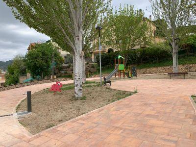 Enllestida la millora del parc infantil del Tossal de Solsona