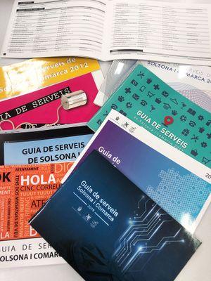 Es convoca un concurs per escollir el disseny de la portada de la 'Guia de serveis de Solsona i comarca'