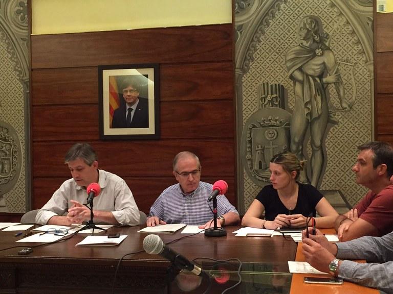 Es mantenen la majoria de tributs locals de Solsona per al 2018