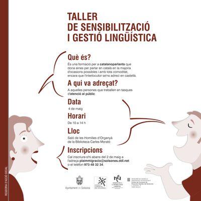 Impulsen a Solsona una campanya de sensibilització per a catalanoparlants sobre l'ús de la pròpia llengua