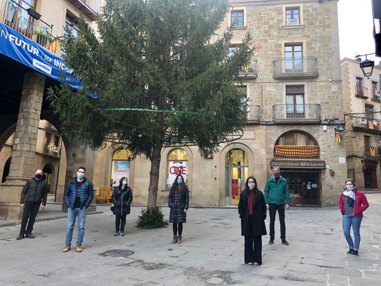 Jordi Vilar, Mans i Mànigues i DSF Ferreters, premiats pels millors aparadors d'aquest Nadal a Solsona