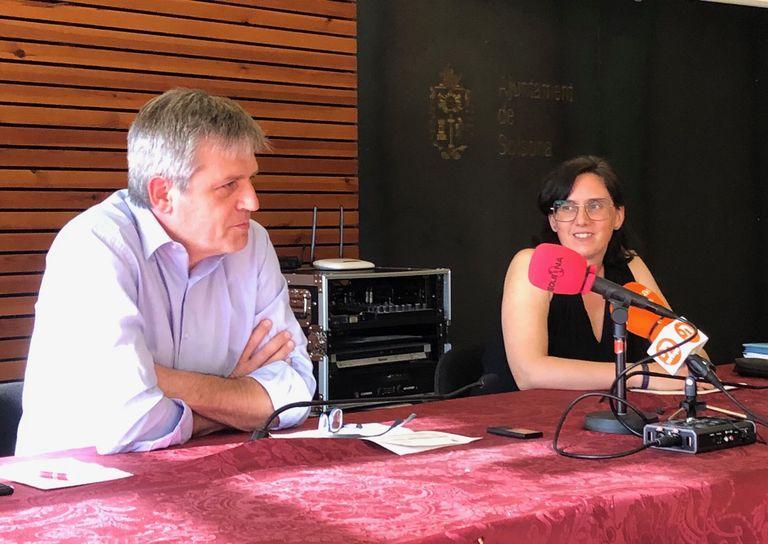 Judit Gisbert es convertirà en la primera alcaldessa de Solsona en rellevar David Rodríguez