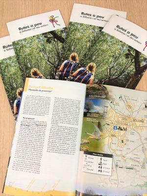 L'Ajuntament de Solsona promociona amb un llibret vuit rutes per l'entorn aptes per a tota la família