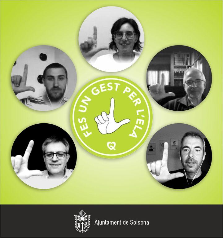 L'Ajuntament de Solsona s'adhereix a la campanya de suport a l'ELA