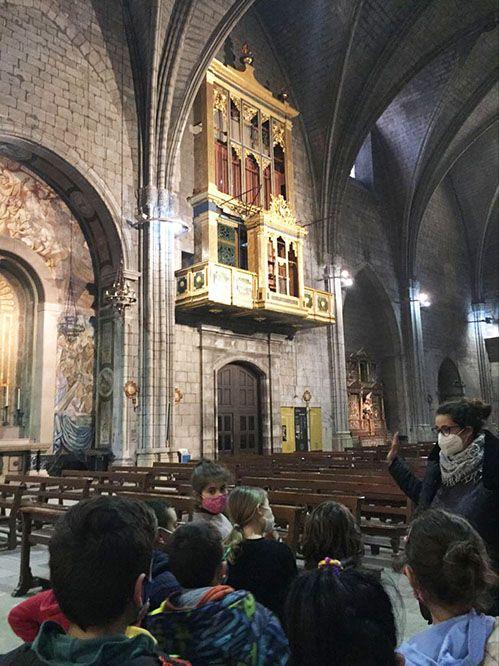 L'Ajuntament organitza una vuitantena de visites per donar a conèixer l'orgue de la catedral a tot l'alumnat de primària de Solsona