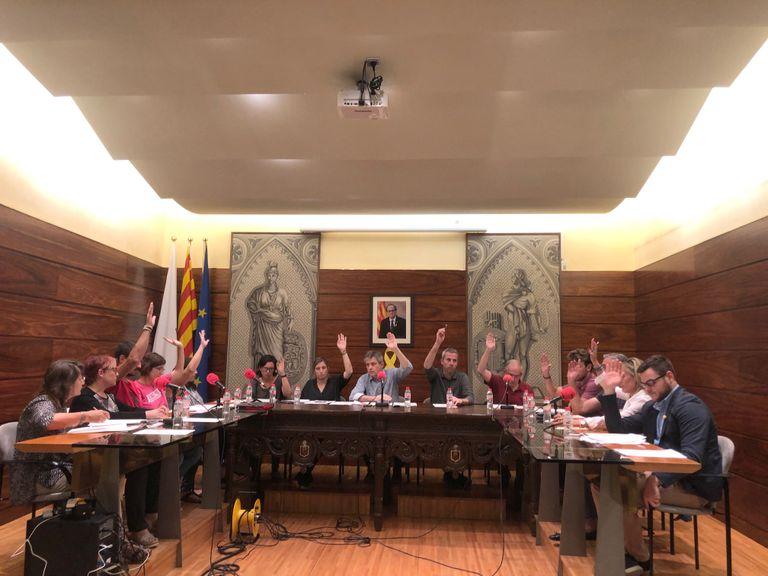 L'Ajuntament solsoní aprova una moció de suport als membres dels CDR empresonats