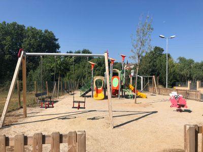 L'Ajuntament solsoní es compromet a continuar millorant els parcs infantils