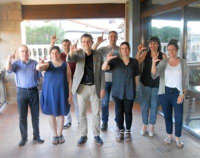 L'Ajuntament solsoní fa un gest per l'ELA coincidint amb el dia mundial d'aquesta malaltia