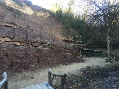 L'Ajuntament solsoní finalitza la recuperació de l'entorn de la font de la Mina amb la replantació vegetal
