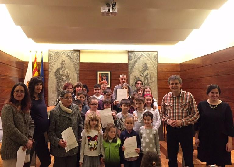 L'Ajuntament solsoní lliura 17 premis dels concursos nadalencs