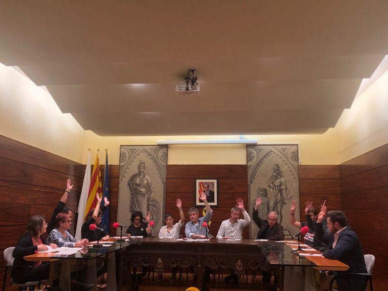 L'Ajuntament solsoní reclama l'amnistia dels presos polítics i es referma en el compromís amb el dret a l'autodeterminació