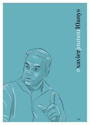 L'Ajuntament solsoní recorda Xavier Jounou amb motiu del desè aniversari de la seva mort