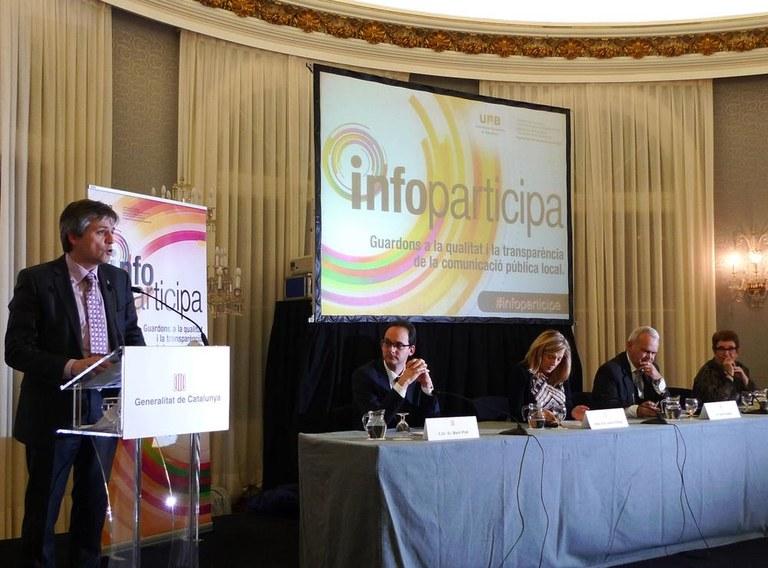 L'alcalde solsoní considera una 'obligació' de les administracions complir els requisits de transparència del Segell Infoparticipa