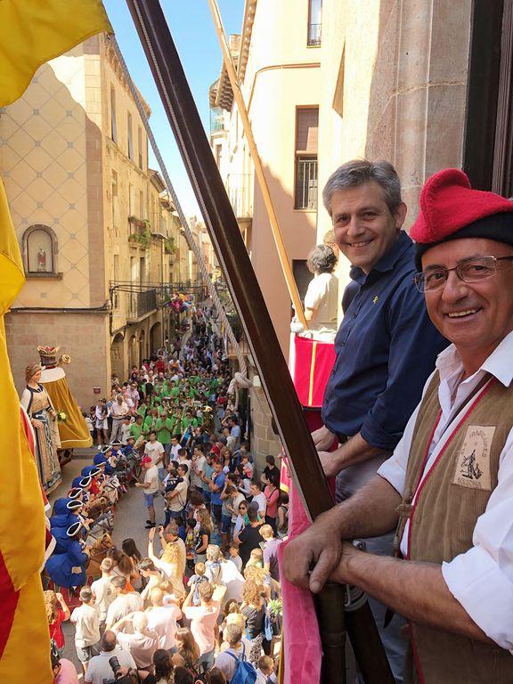 L'alcalde solsoní defensa l'arrelament i l'adaptació del patrimoni festiu en la salutació d'inici de la Festa Major
