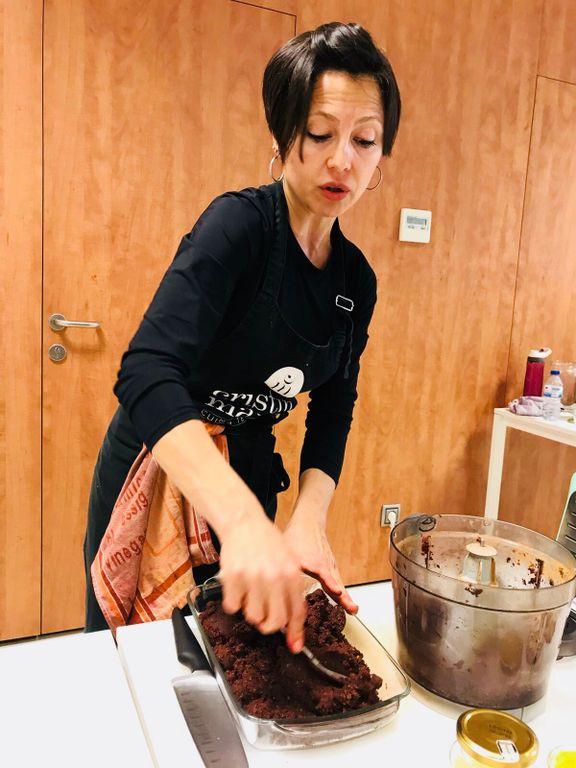 L'experta en postres saludables Cristina Manyer condueix el darrer taller de cuina d''Al·lèrgicum', que passa al dia 19