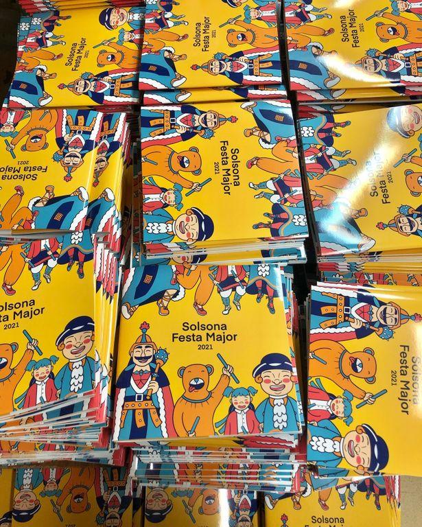L'OAC municipal de Solsona comença a distribuir el programa de la Festa Major