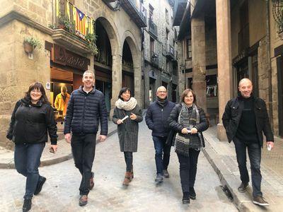 L'Obrador del marc, Òptica Jané i Cal Davesas s'enduen els premis pels millors aparadors nadalencs de Solsona