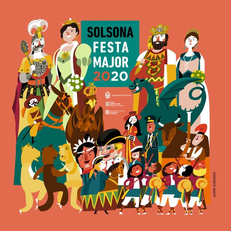 La 367a Festa Major de Solsona esquiva la situació d'excepcionalitat amb canvis en la programació