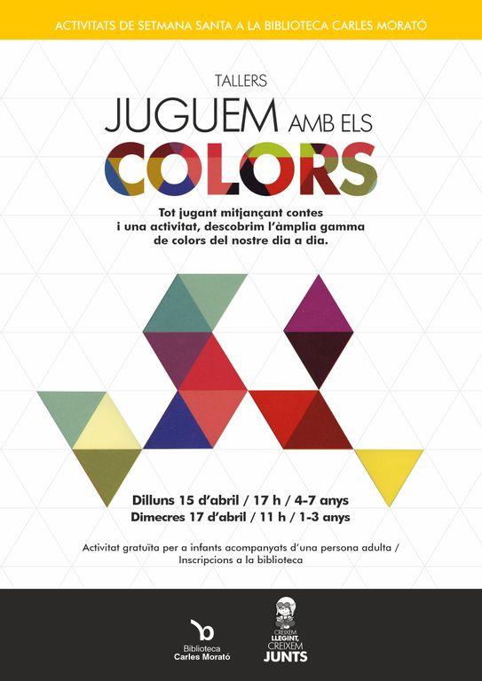 La biblioteca solsonina organitza un doble taller sobre el món dels colors per Setmana Santa