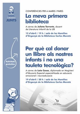 La biblioteca solsonina programa dues conferències adreçades als pares i mares