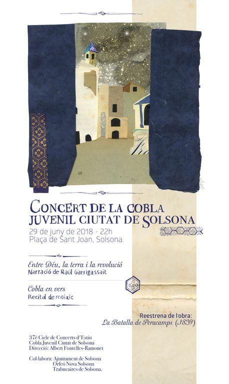 La Cobla de Solsona viatja al segle XIX en un espectacle en què intervé Raül Garrigasait
