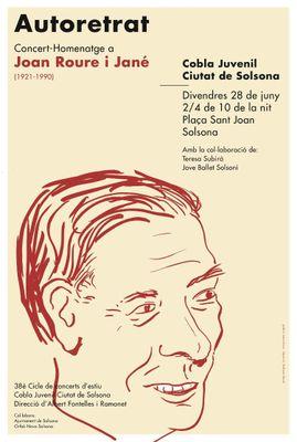 La Cobla Juvenil Ciutat de Solsona enceta el Cicle de concerts d'estiu amb un monogràfic sobre el mestre Roure