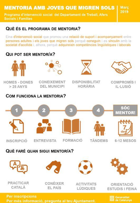 La Generalitat implementa a Solsona un programa de mentoria per als joves migrants sense referents familiars