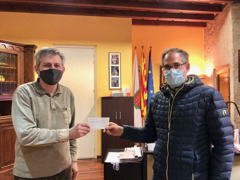 La Passos de Gegant torna a col·laborar amb el Fons d'emergència social de Solsona amb 882 euros