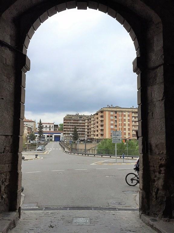 La pilona del portal del Pont de Solsona s'activarà dilluns