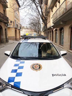 La Policia Local de Solsona deté un presumpte lladre de cable al Vinyet