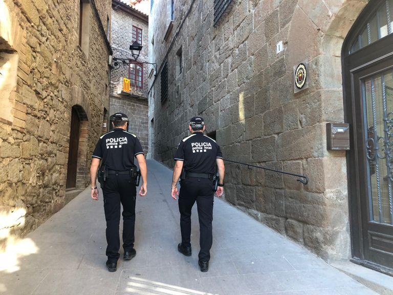 La Policia Local solsonina estrena el nou uniforme que reforça la imatge de Policia de Catalunya