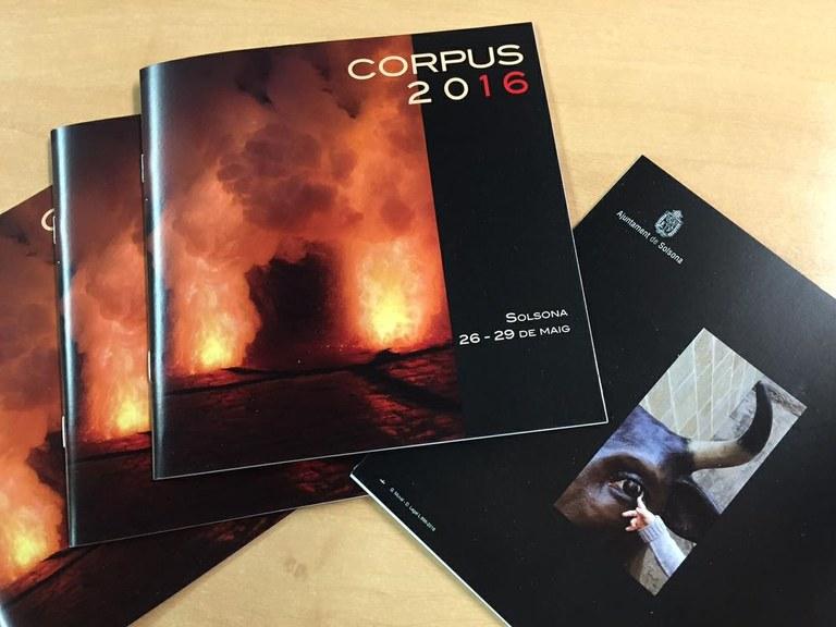 La regidoria de Cultura distribueix el programa de Corpus